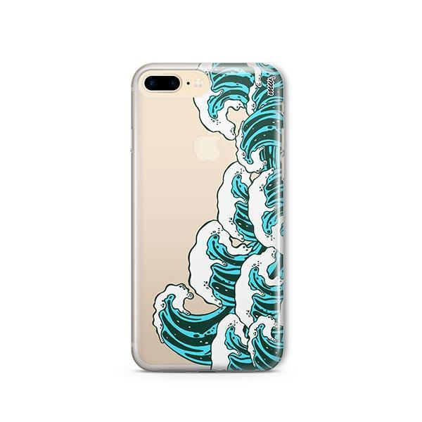 Full Great Wave Kanagawa iPhone 7 Plus Case Clear