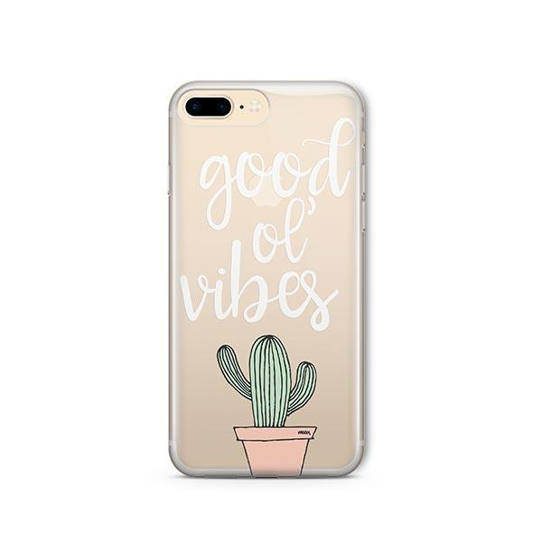 Good Ol Vibes iPhone 8 Plus Case Clear