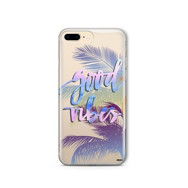 Good Vibes iPhone 8 Plus Case Clear