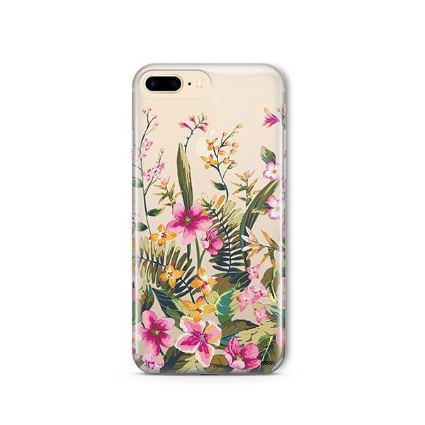 Growing Garden iPhone 7 Plus Case Clear
