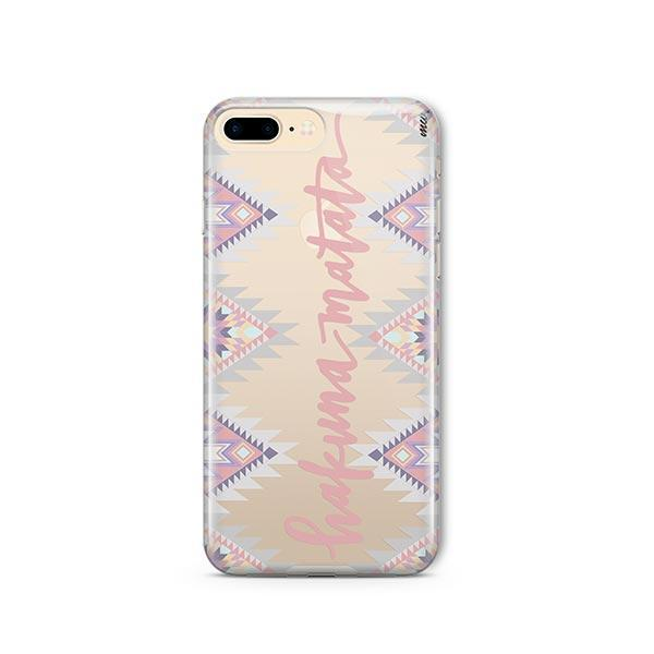 Hakuna Matata iPhone 8 Plus Case Clear