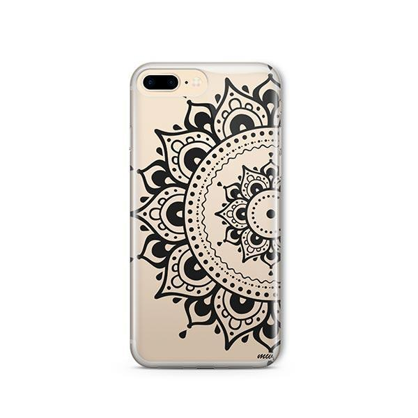reputable site aa765 6a7a7 Hayley Mandala iPhone 8 Plus Case Clear
