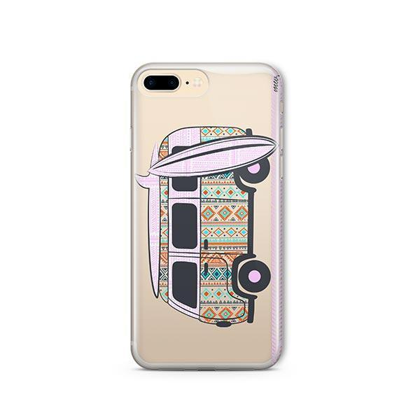 Hipster Van iPhone 7 Plus Case Clear