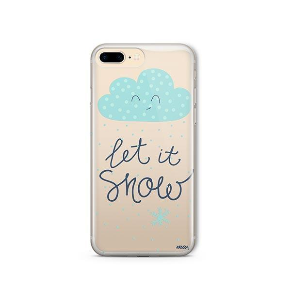 Let It Snow iPhone 8 Plus Case Clear