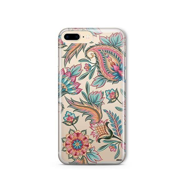 Lola Paisley iPhone 7 Plus Case Clear