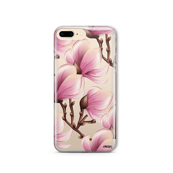 Magnolia iPhone 7 Plus Case Clear