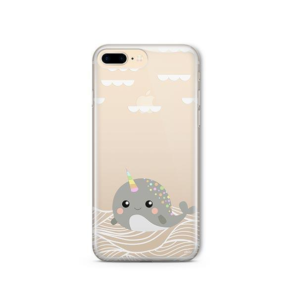 Narwhal - iPhone 7 Plus Case Clear