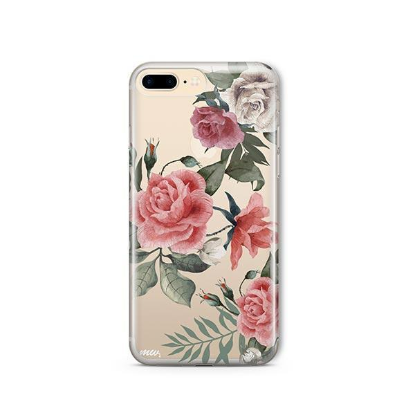 Petals iPhone 7 Plus Case Clear