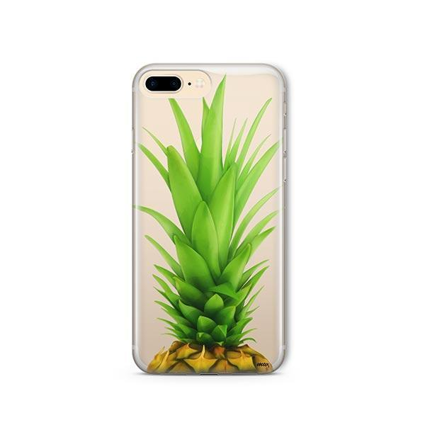 Pineapple Head iPhone 7 Plus Case Clear