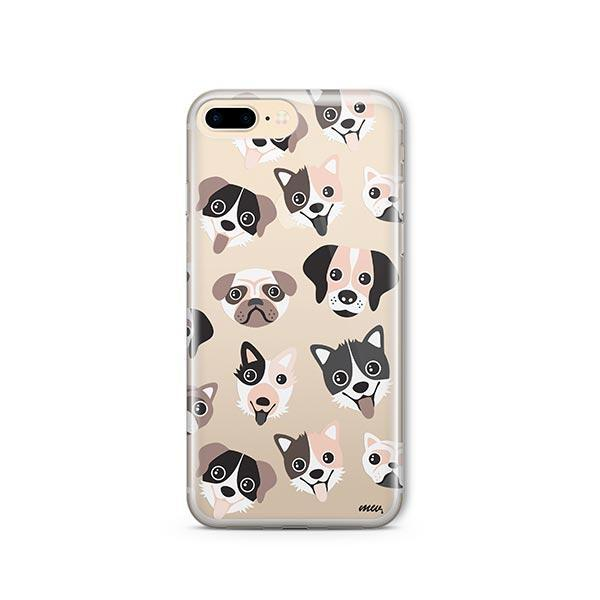 Puppy Love - iPhone 8 Plus Clear Case