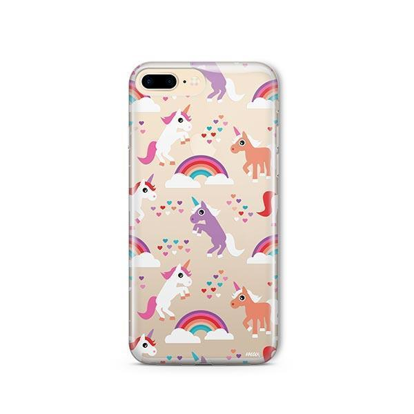 Rainbows and Unicorns iPhone 7 Plus Case Clear