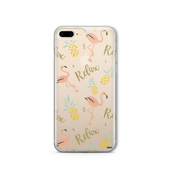 Relax iPhone 8 Plus Case Clear