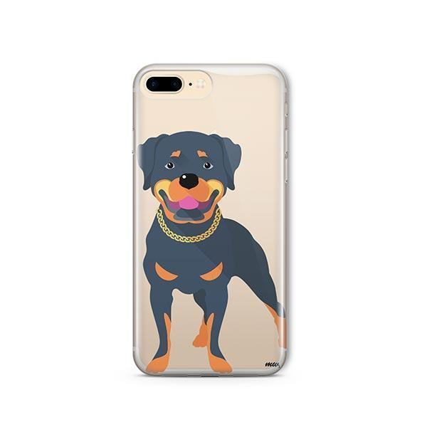 Rottweiler - iPhone 8 Plus Clear Case