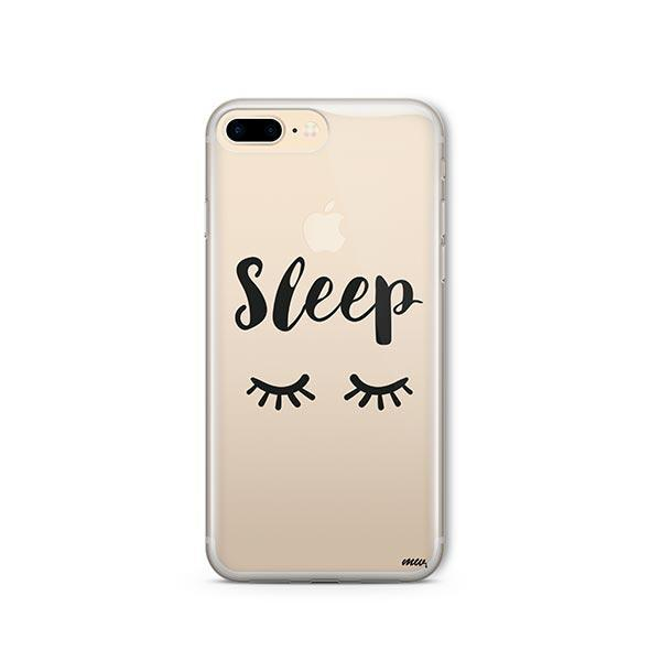 Sleep iPhone 8 Plus Case Clear