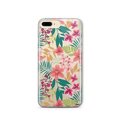 Summer Blossom iPhone 8 Plus Case Clear