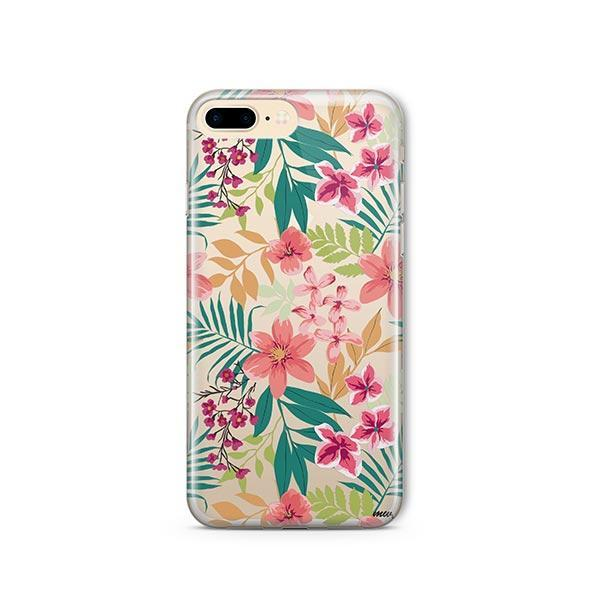 Summer Blossom iPhone 7 Plus Case Clear