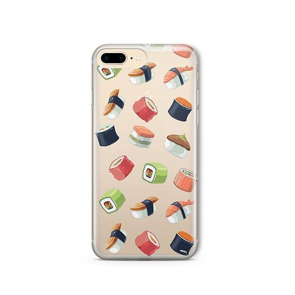 Sushi Lover iPhone 7 Plus Case Clear