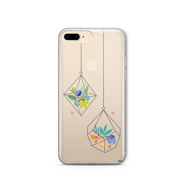 Terrarium iPhone 7 Plus Case Clear