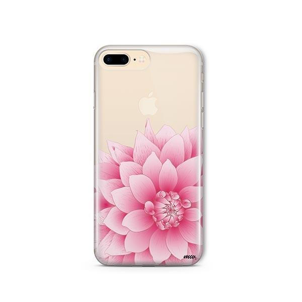 The Dahlia iPhone 7 Plus Case Clear