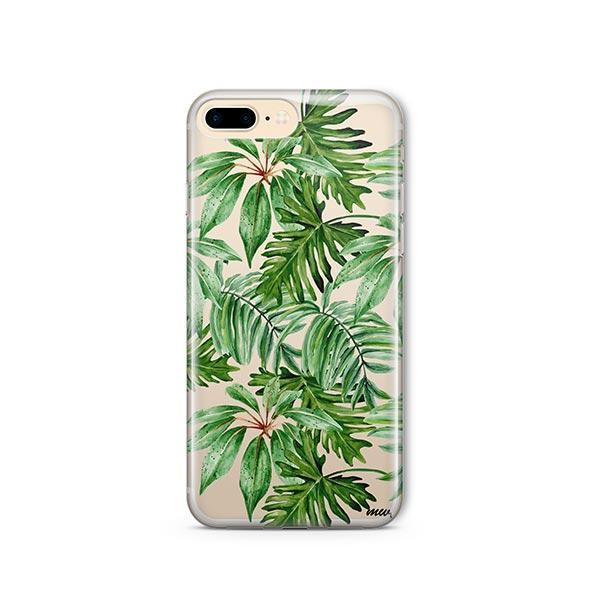 The Tropics iPhone 7 Plus Case Clear