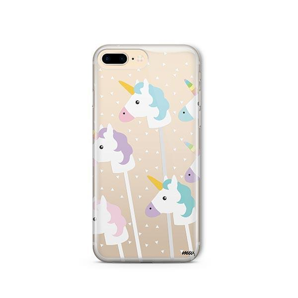 Unicorn Pops iPhone 7 Plus Case Clear