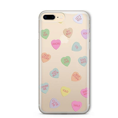 Valentines Candy - iPhone Clear Case