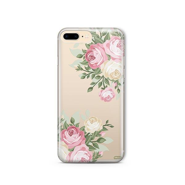 Vintage Roses iPhone 7 Plus Case Clear