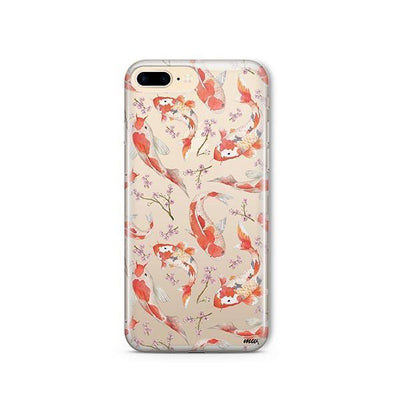Watercolor Koi Fish - iPhone Clear Case