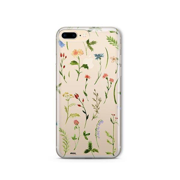 Wildflower iPhone 7 Plus Case Clear