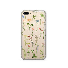 Wildflower iPhone 8 Plus Case Clear