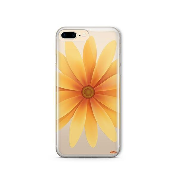 Yellow Daisy iPhone 7 Plus Case Clear