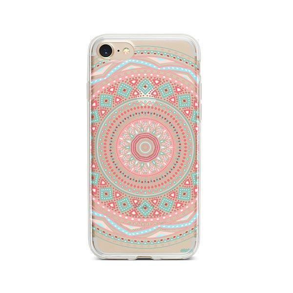Anna Mandala iPhone 8 Case Clear