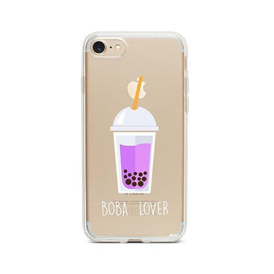 Boba Lover - iPhone Clear Case