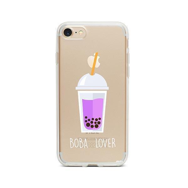 Boba Lover iPhone 8 Case Clear