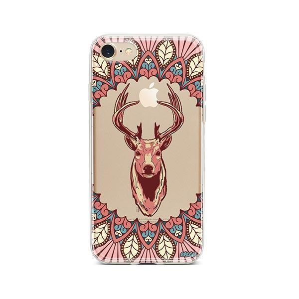 Beauteous Deer - iPhone 7 Case Clear