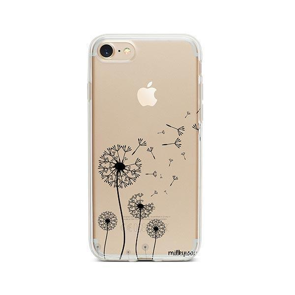 Dandelion iPhone 8 Case Clear
