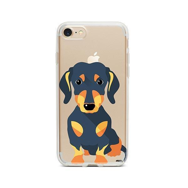 Doxie - iPhone 8 Clear Case