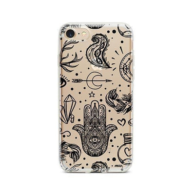 Gypsy Style - Clear TPU - iPhone Case