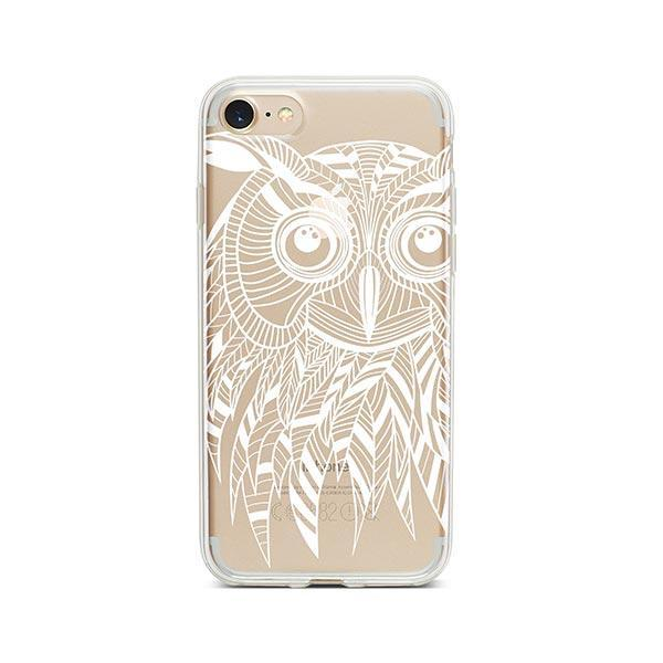 Henna Ethnic Owl iPhone 7 Case Clear