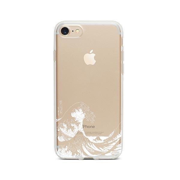 Kanagawa Wave iPhone 8 Case Clear