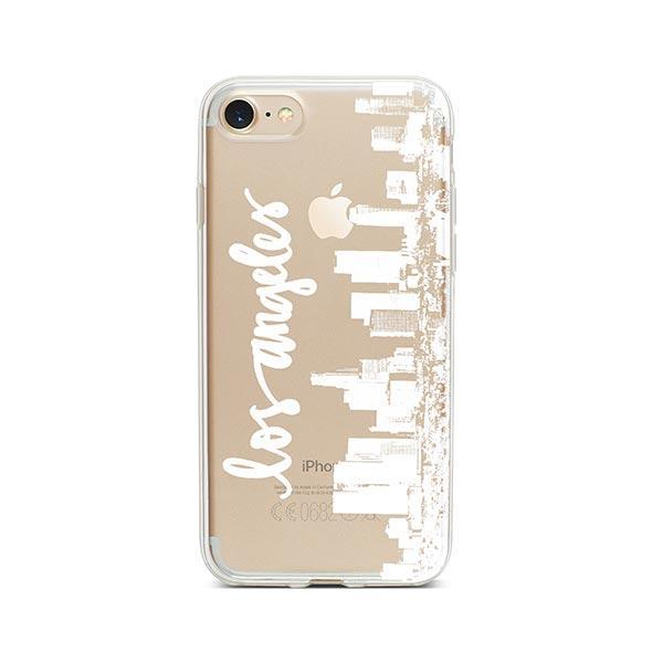 LA Skyline iPhone 7 Case Clear