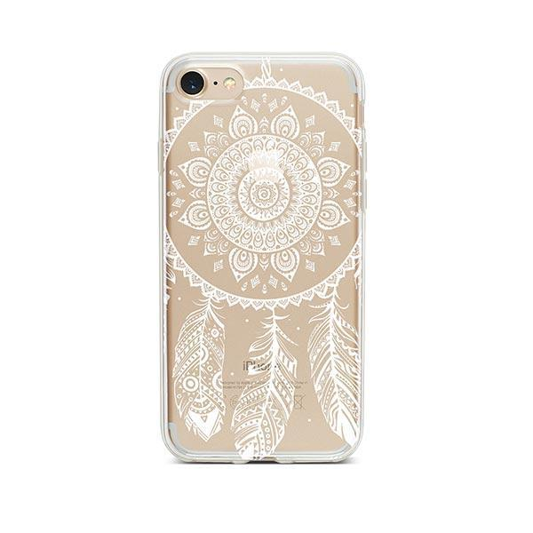 Henna Ojibwe iPhone 7 Case Clear