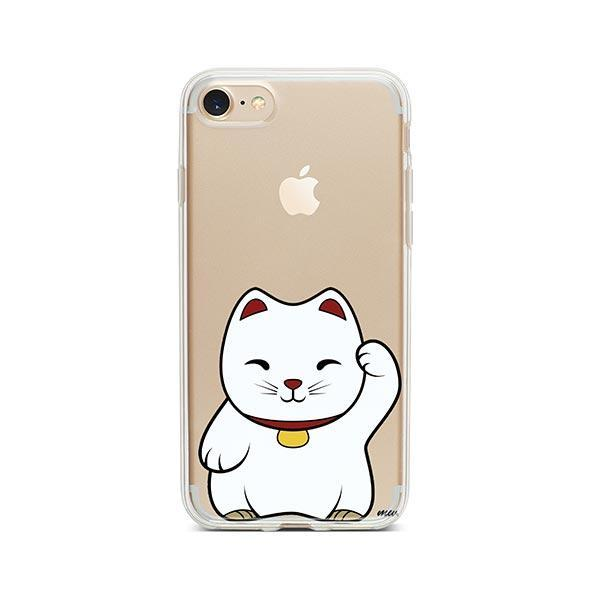 Lucky Cat - iPhone 8 Clear Case