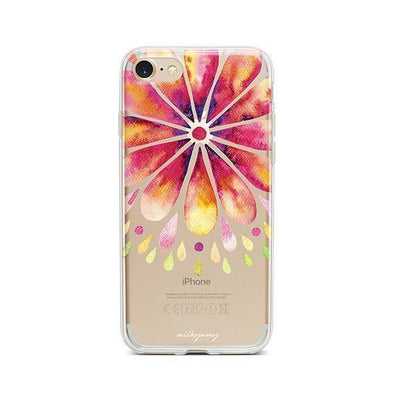 Mandala Drops - iPhone Clear Case