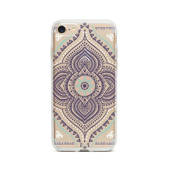 Opulent Mandala iPhone 7 Case Clear