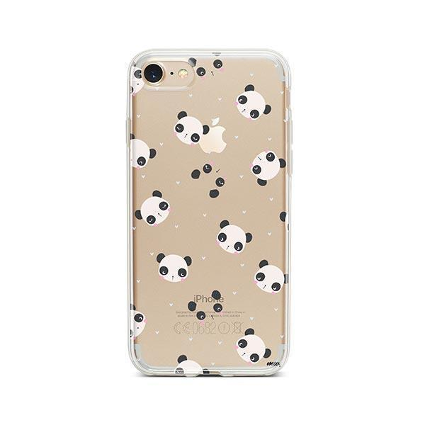 Pandamonium - iPhone 7 Case Clear