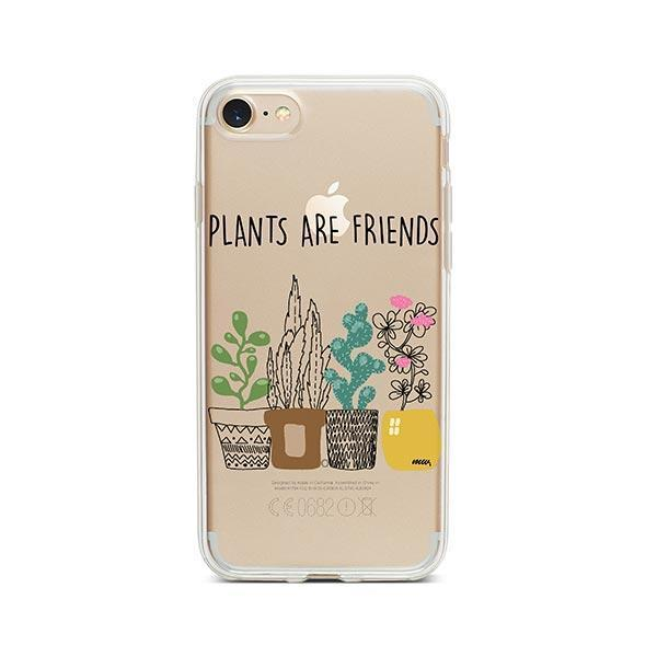 Plants Are Friends iPhone 7 Case Clear