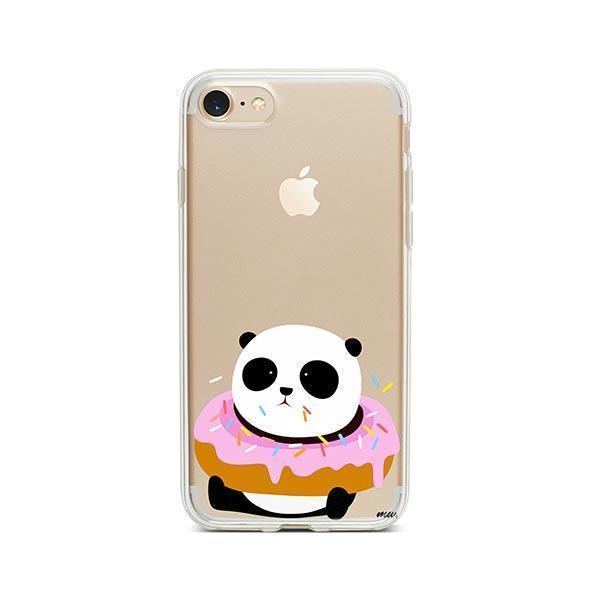 Pandonut iPhone 7 Case Clear