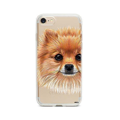Pomsky Puppy - iPhone Clear Case
