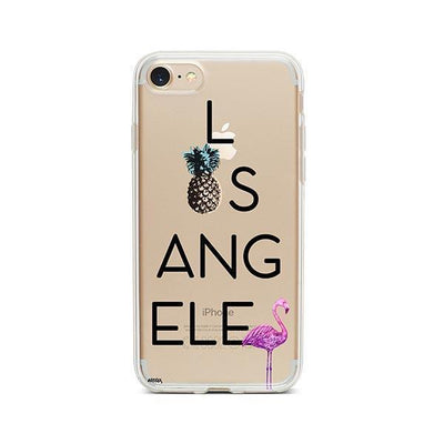 So LA - iPhone Clear Case